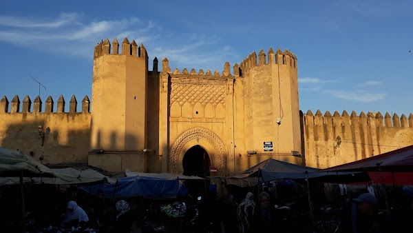 Popular tourist site Bab Chorfa in Fez