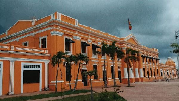 Popular tourist site Edificio De La Aduana in Barranquilla