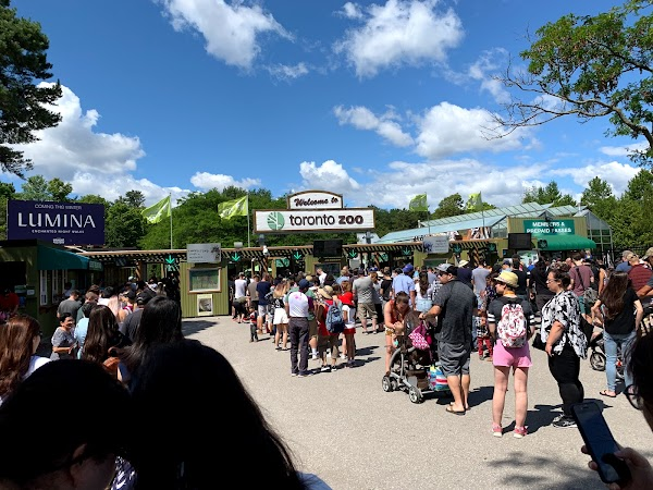 Popular tourist site Toronto Zoo in Toronto
