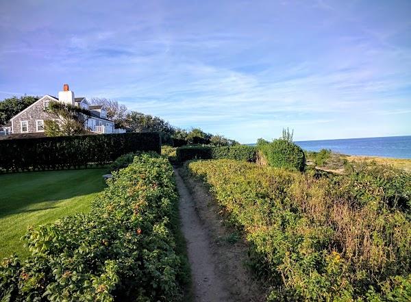 Popular tourist site 'Sconset Bluff Walk in Nantucket