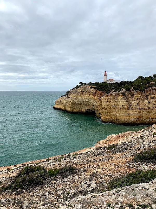 Popular tourist site Percurso dos Sete Vales Suspensos in Algarve