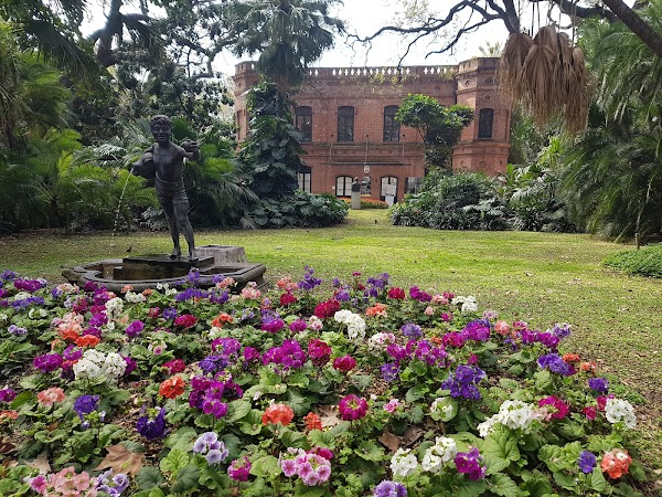 Popular tourist site Jardín Botánico Carlos Thays in Buenos Aires