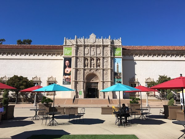 Popular tourist site The San Diego Museum of Art in San Diego