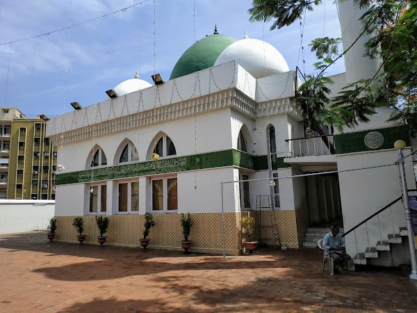 Popular tourist site Thousand Lights Mosque in Chennai