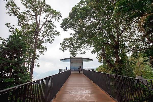 Popular tourist site Sky Walk in Penang