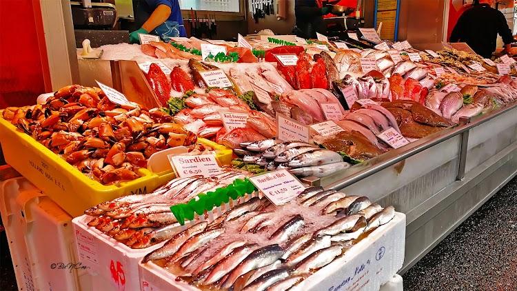Vishandel Albert Cuyp Amsterdam