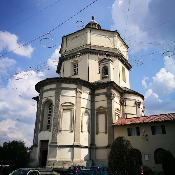 Popular tourist site Monte dei Cappuccini, Turin in Turin