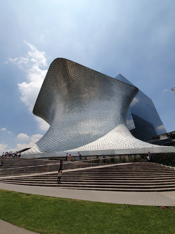 Popular tourist site Soumaya Museum in Mexico City