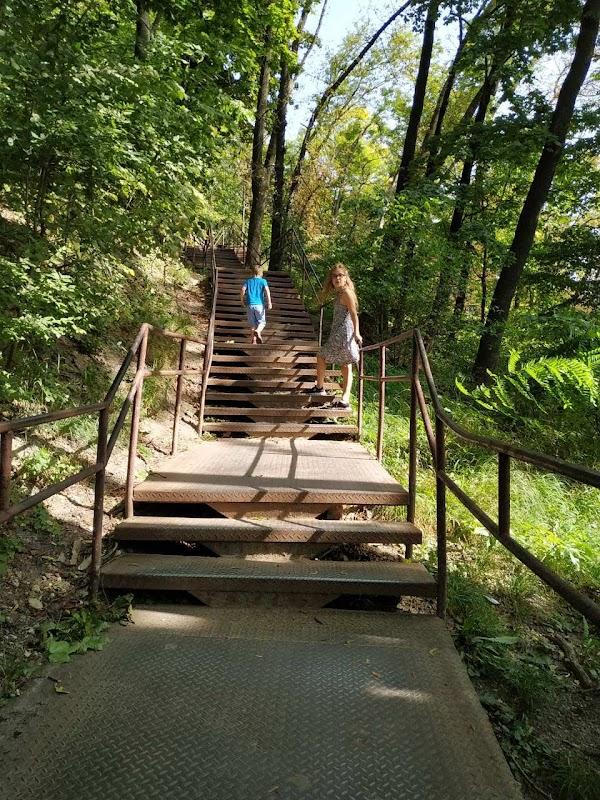 Popular tourist site Park High Castle in Lviv