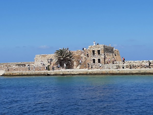 Popular tourist site Firka Castle in Chania