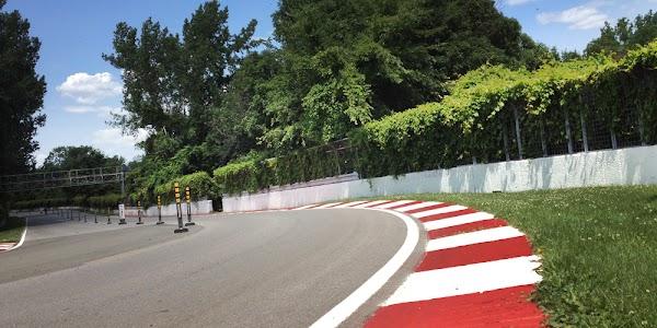Popular tourist site Circuit Gilles Villeneuve in Montreal
