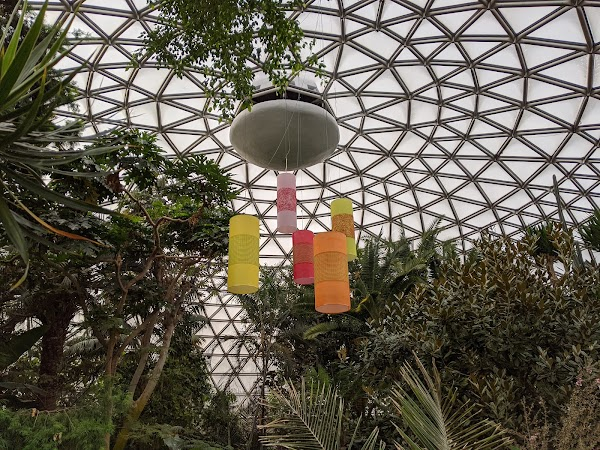 Popular tourist site Bloedel Conservatory in Vancouver