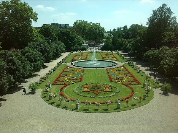 Popular tourist site Flora und Botanischer Garten Köln in Cologne