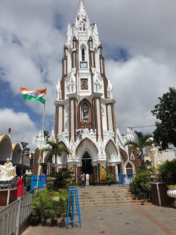 Popular tourist site St. Mary's Basilica, Bengaluru in Bengaluru