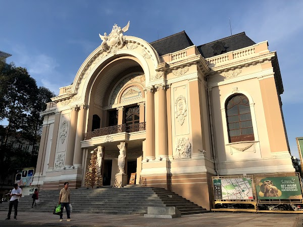 Popular tourist site Ho Chi Minh City Opera House in Ho Chi Minh City