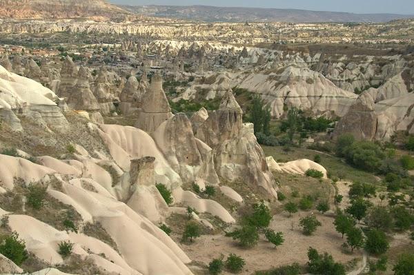 Popular tourist site Pigeon Valley in Cappadocia