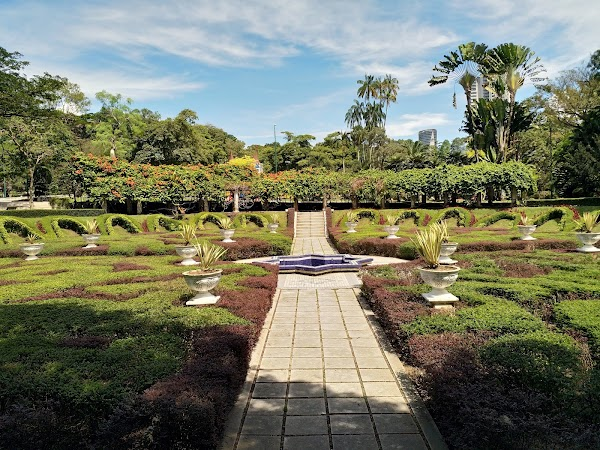 Popular tourist site Perdana Botanical Garden in Kuala Lumpur