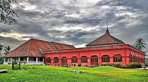 Popular tourist site Kanakakkunnu Palace in Trivandrum