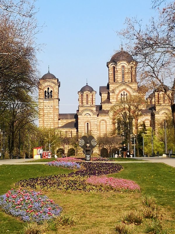 Popular tourist site Tašmajdan in Belgrade