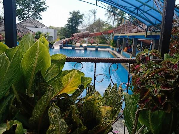 Popular tourist site Kolam Renang Bethesda in Canggu