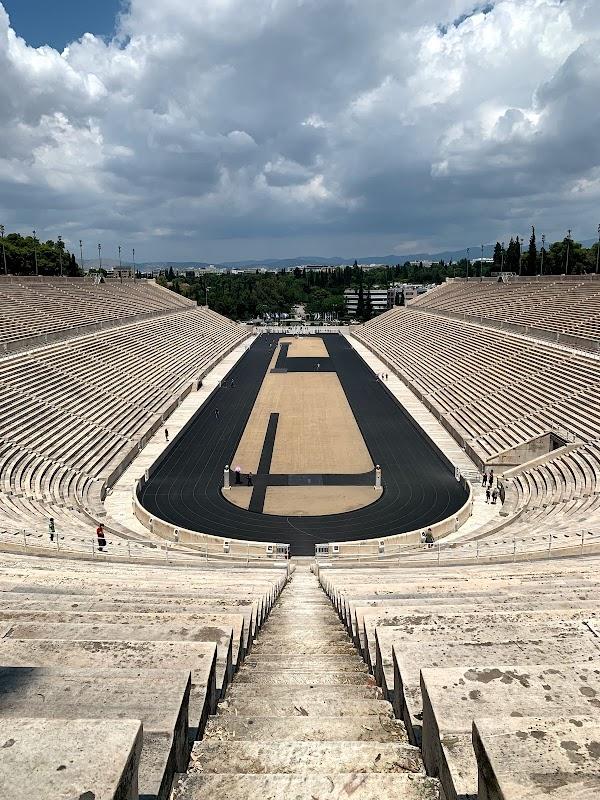 Popular tourist site Panathenaic Stadium in Athens