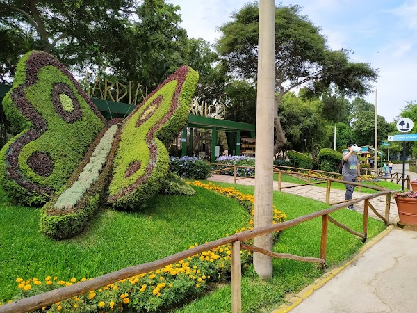 Popular tourist site Legends Park in Lima