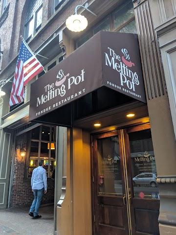The Melting Pot banner backdrop