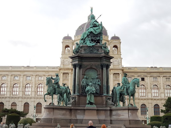 Popular tourist site Museum of Natural History Vienna in Vienna