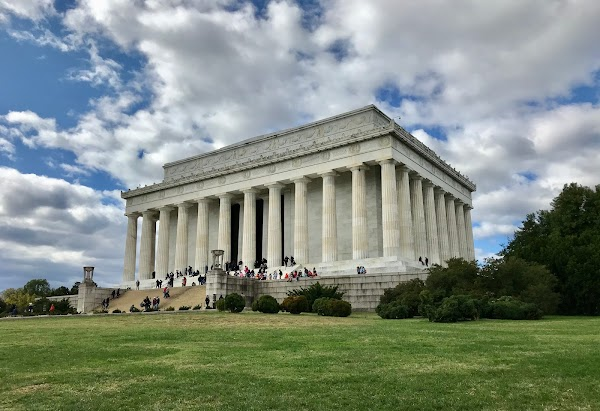 Popular tourist site Lincoln Memorial in Washington D.C.