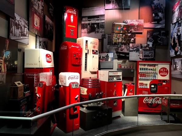 Popular tourist site World of Coca-Cola in Villa Rica