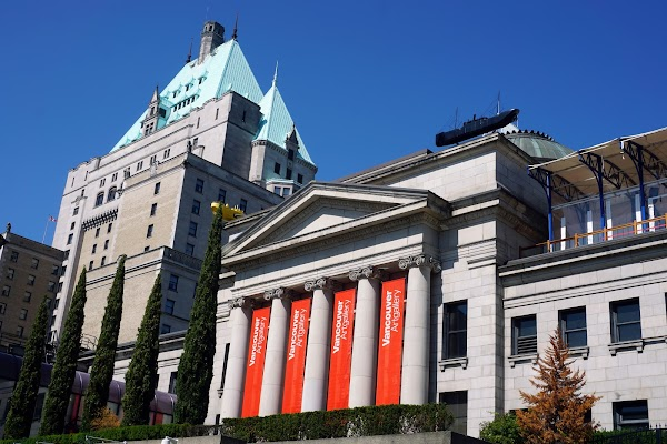 Popular tourist site Vancouver Art Gallery in Vancouver