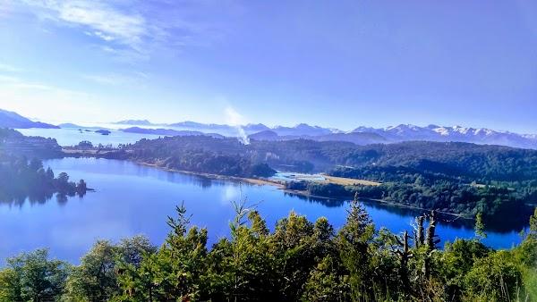 Popular tourist site Punto Panorámico - Circuito Chico in Bariloche