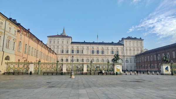 Popular tourist site Royal Palace of Turin in Turin