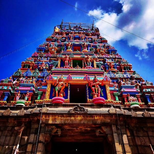 Popular tourist site Arulmigu Marundeeswarar Temple in Chennai