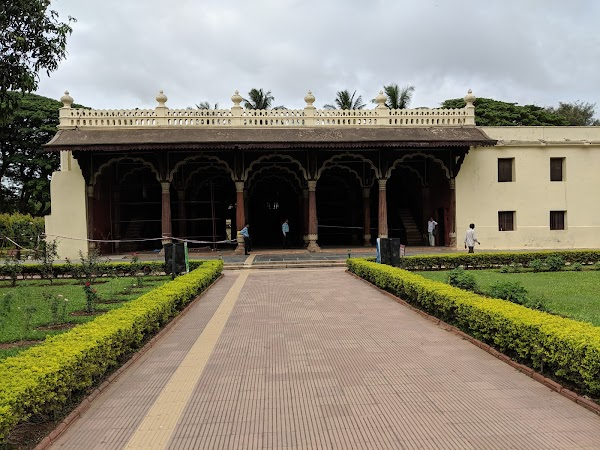 Popular tourist site Tipu Sultan's Summer Palace in Bengaluru