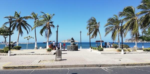 Popular tourist site Bahia de Santa Marta in Santa Marta