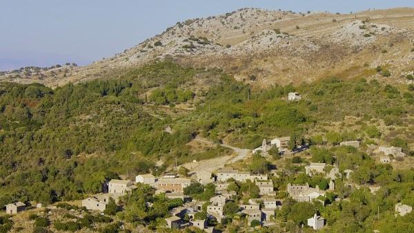 Popular tourist site Παλαιά Περίθεια in Corfu