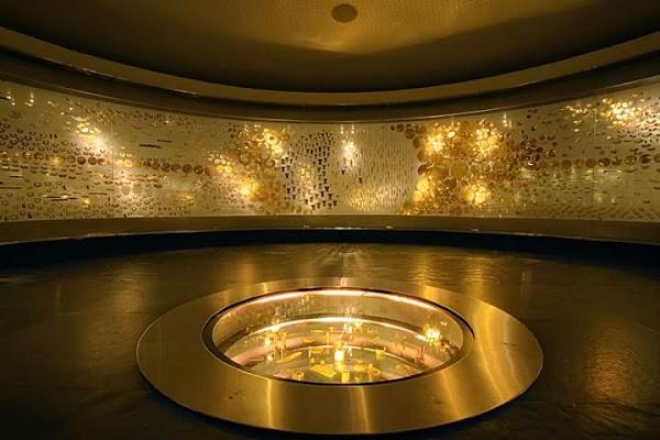 Popular tourist site Gold Museum in Bogota