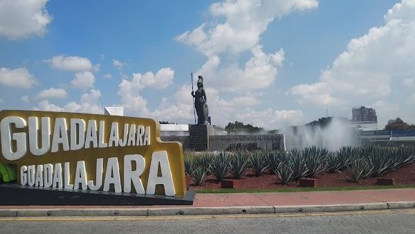Popular tourist site Minerva Roundabout in Guadalajara