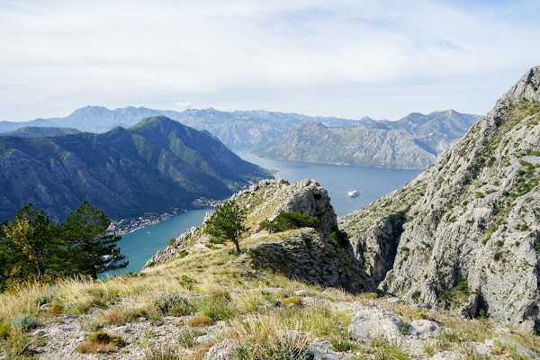 Popular tourist site Top Of The Old Kotor Fort Trail in Kotor