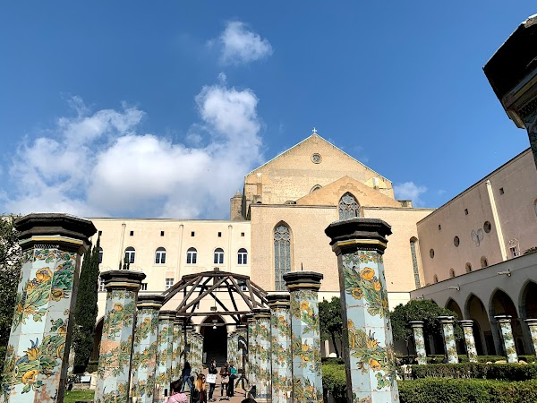 Popular tourist site Monastero di Santa Chiara in Naples