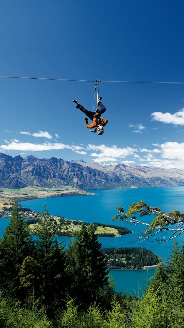 Popular tourist site Ziptrek Ecotours in Queenstown