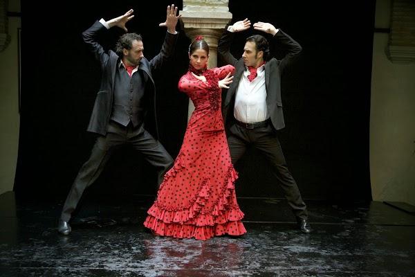 Popular tourist site Museo del Baile Flamenco in Seville
