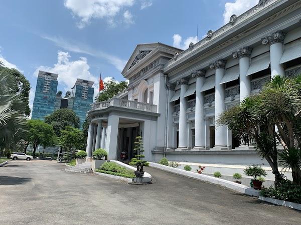 Popular tourist site Hồ Chí Minh City Museum in Ho Chi Minh City