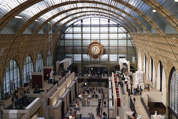 Popular tourist site Musée d'Orsay in Paris