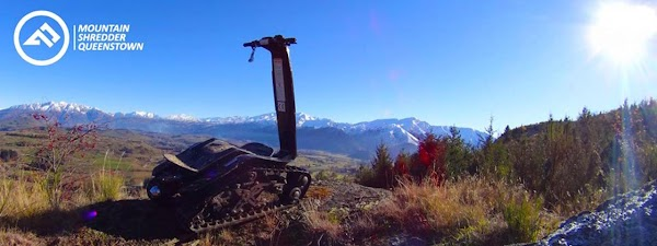 Popular tourist site DTV Shredder NZ in Queenstown