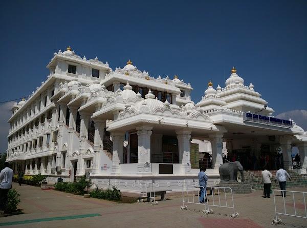 Popular tourist site ISKCON in Chennai