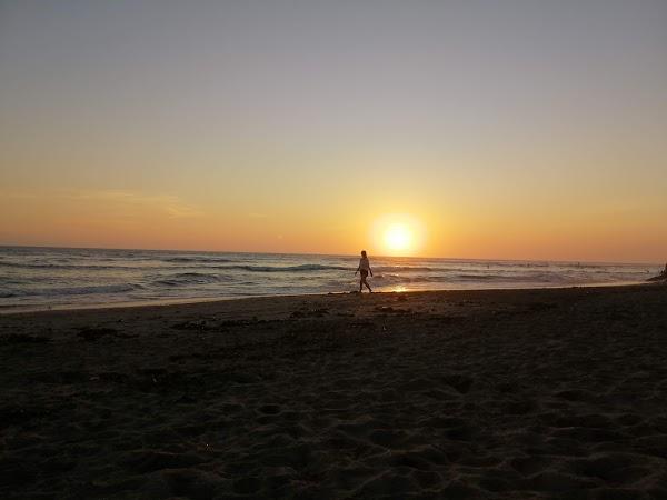 Popular tourist site Nelayan Beach in Canggu