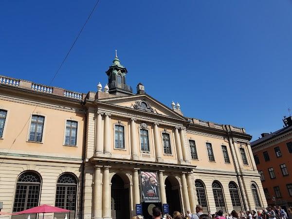 Popular tourist site Nobel Museum in Stockholm
