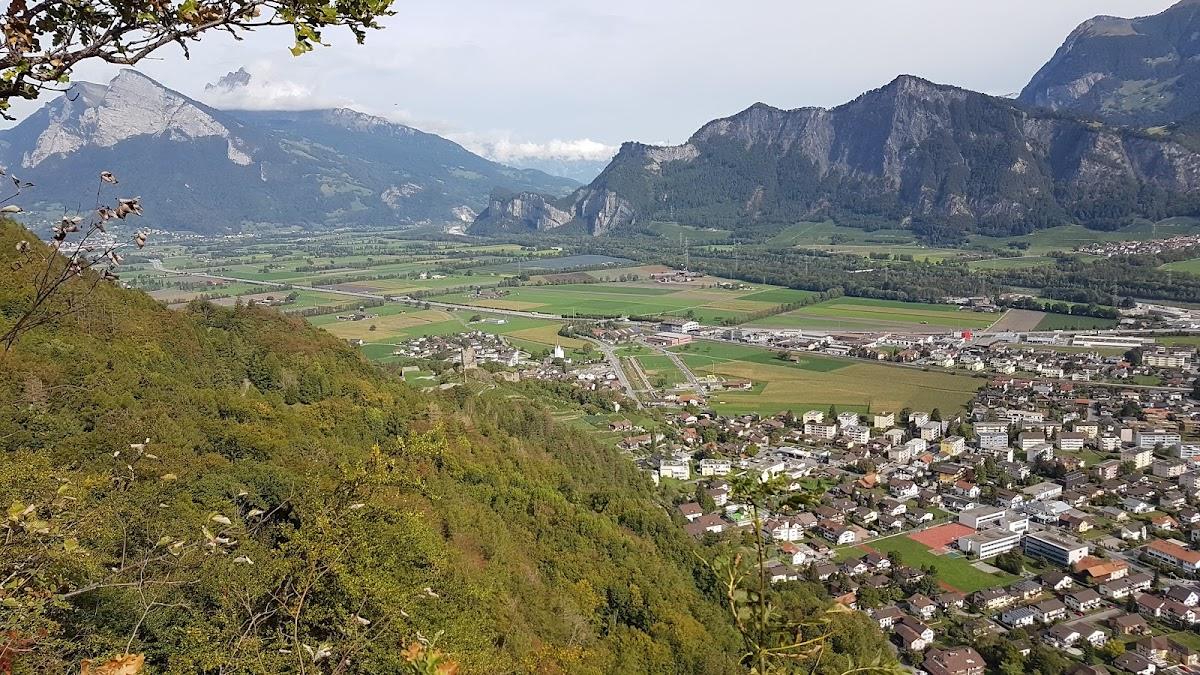 Aussichtspunkt Guschachopf Bad Ragaz